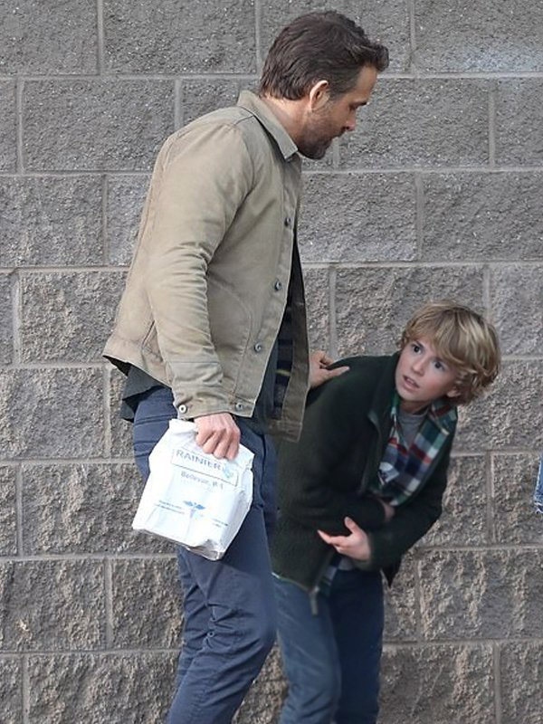 Ryan Reynolds The Adam Project Cotton Jacket