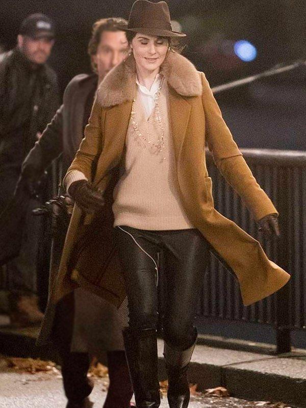 The Gentlemen Rosalind Pearson Brown Fur Coat