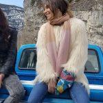 Waverly Earp Wynonna Earp S04 Faux Fur Coat