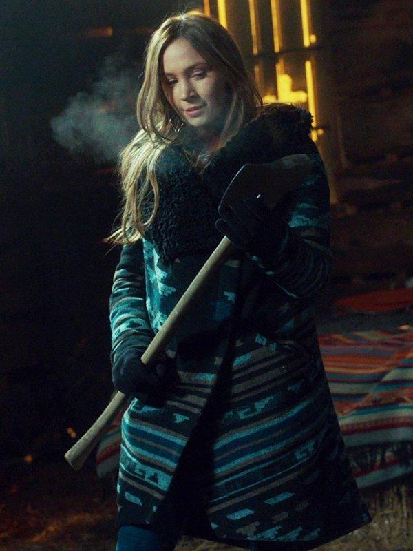 Wynonna Earp S04 Dominique Provost-Chalkley Coat