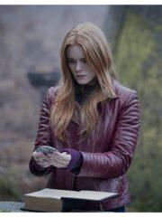 Abigail Cowen Fate The Winx Saga Leather Jacket
