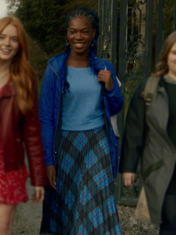 Aisha Fate The Winx Saga Precious Mustapha Hooded Blue Jacket