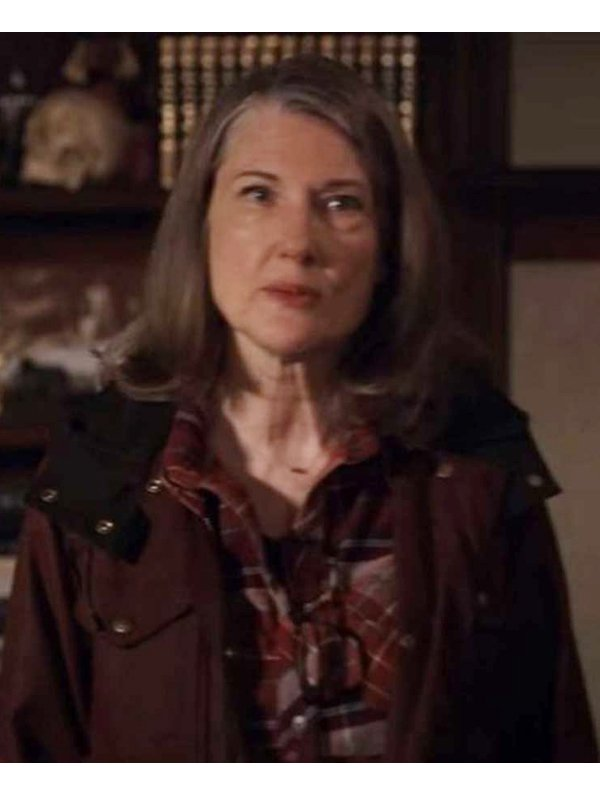 Annette O'Toole Virgin River Hope McCrea Brown Hooded Coat