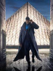 Arsene Diop Lupin Black Long Coat