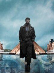 Arsene Diop Lupin Black Trench Coat