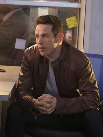 Dan Espinoza Lucifer Cafe Racer Leather Jacket