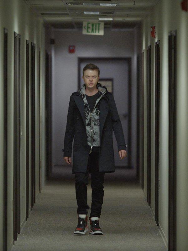 Dane DeHaan The Stranger Black Coat