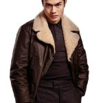 Henry Golding The Gentlemen Leather Jacket