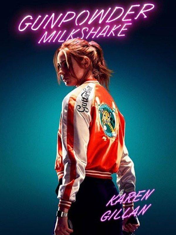 Karen Gillan Gunpowder Milkshake Eva Jacket