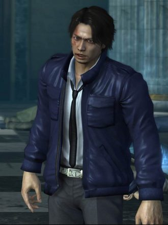 Masayoshi Tanimura Yakuza 4 Leather Jacket