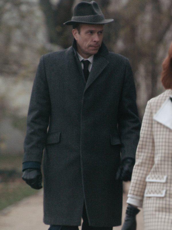 Mr. Booth The Queen's Gambit Trench Coat