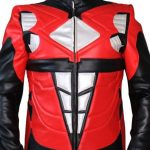 Power Ranger Red Leather Jacket