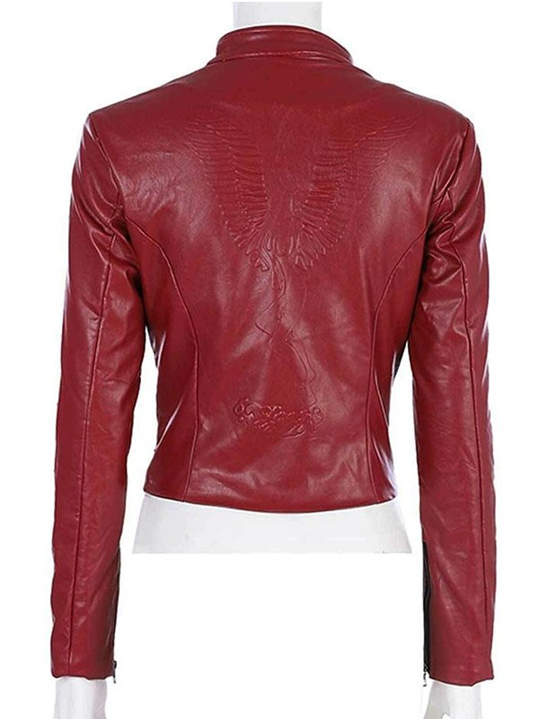 Video Game Resident Evil 2 Claire RedField Leather Jacket