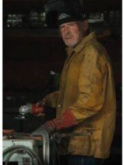 Will Patton Yellowstone S03 Garrett Randle Suede Leather Jacket