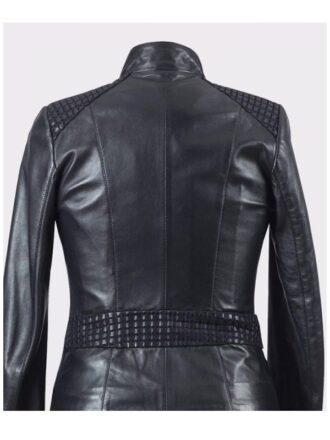 Women's Real Premium Lambskin Black Leather Jacket