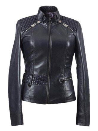 Women's Real Premium Lambskin Leather Jacket