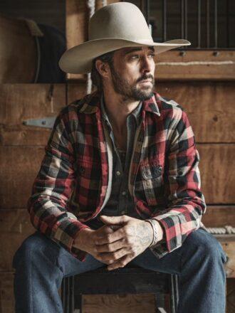 Yellowstone S03 Walker Plaid Jacket