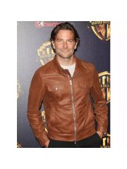 A Star Is Born Bradley Cooper Leather Jacket
