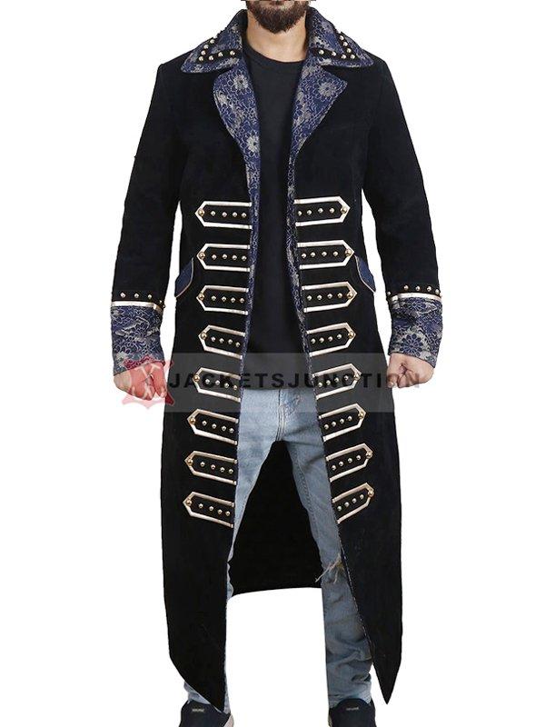 AEW Wrestler Sting Black Long Coat