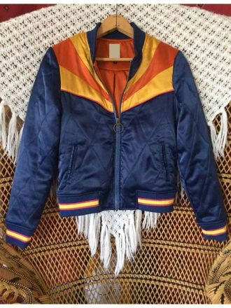 Cobie Smulders Stumptown Dex Parios Rising Sun Bomber Jacket