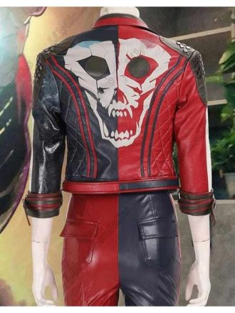 Harley Quinn Suicide Squad Kill The Justice League Biker Leather Jacket