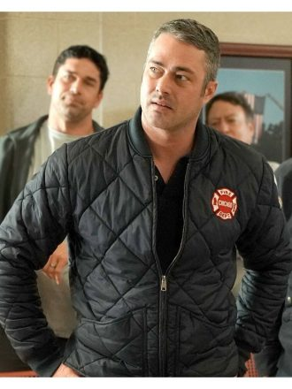 Kelly Severide Chicago P.D Quilted Jacket
