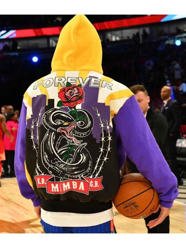 Los Angeles Lakers Kobe Devin Booker Multicolor Hoodie
