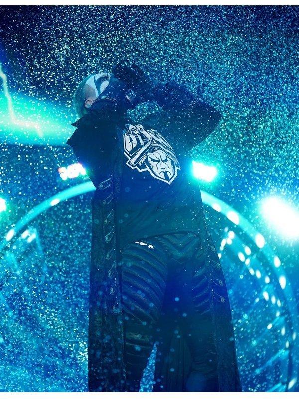 Steve Borden AEW Wrestler Sting Black Long Coat