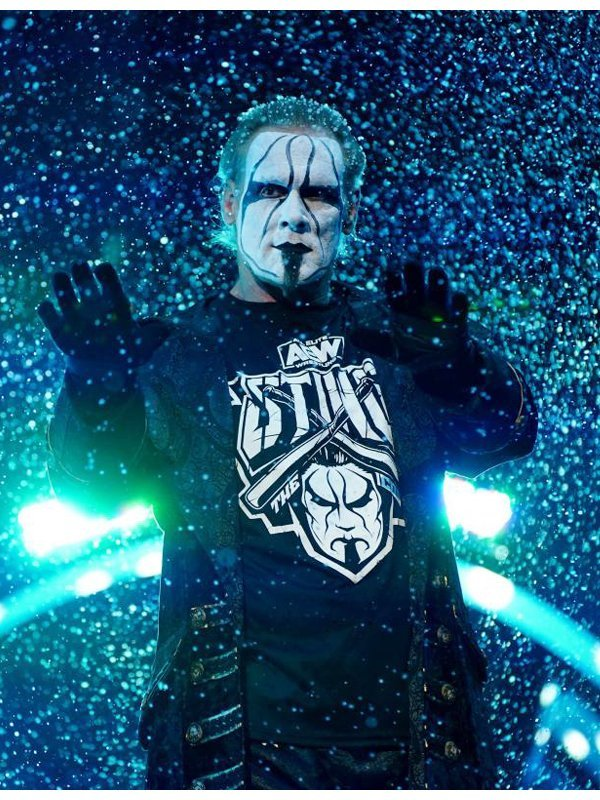 Steve Borden AEW Wrestler Sting Coat