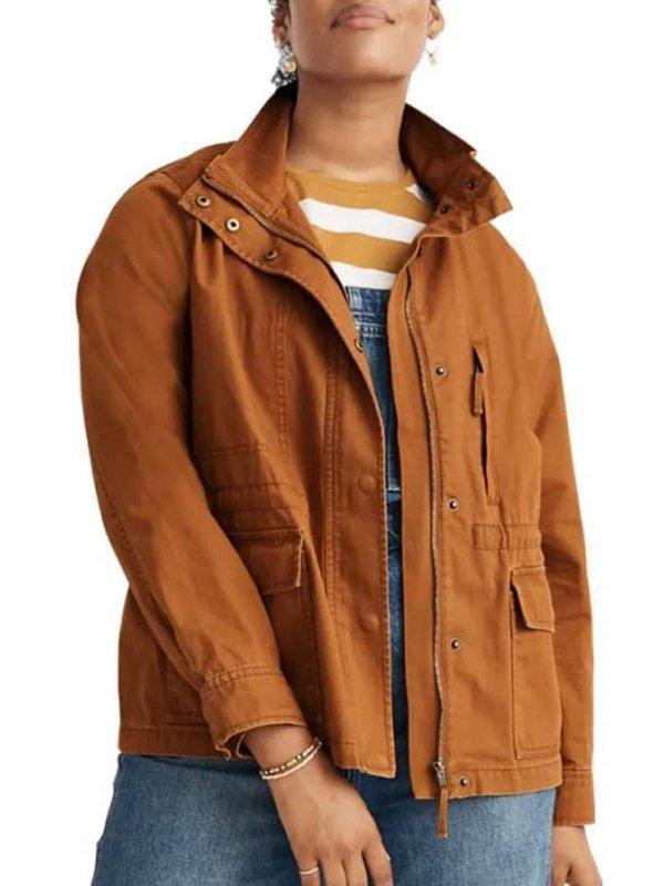 9-1-1 S04 Maddie Kendall Brown Jacket