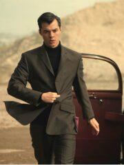 Alfred Pennyworth Jack Bannon Grey Blazer
