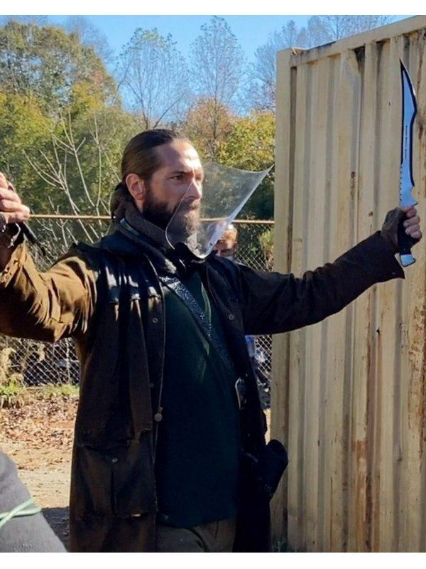 James Devoti The Walking Dead Cole Brown Trench Coat