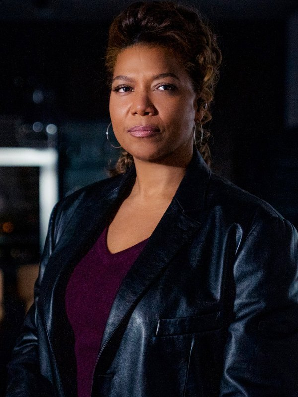 Queen Latifah The Equalizer Robyn McCall Black Leather Long Coat