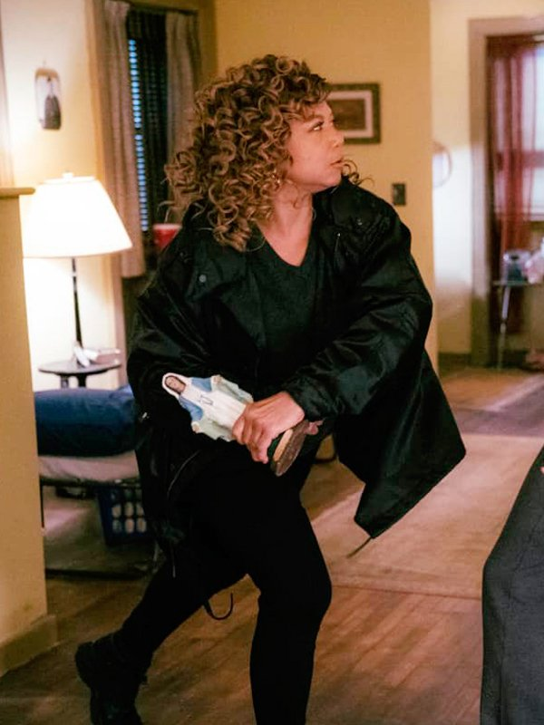 Queen Latifah The Equalizer Robyn McCall Long Black Trench Coat