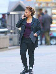 Robyn McCall The Equalizer Queen Latifah Black Cotton Jacket