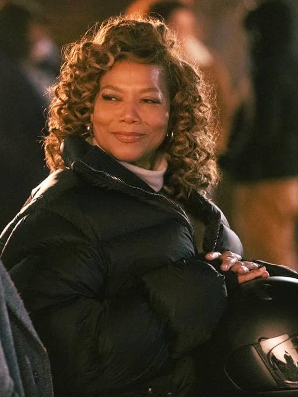 Robyn McCall The Equalizer Queen Latifah Puffer Black Jacket