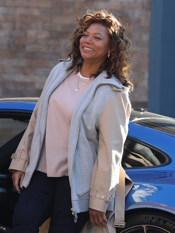Robyn Mccall The Equalizer Queen Latifah Long Tail Jacket