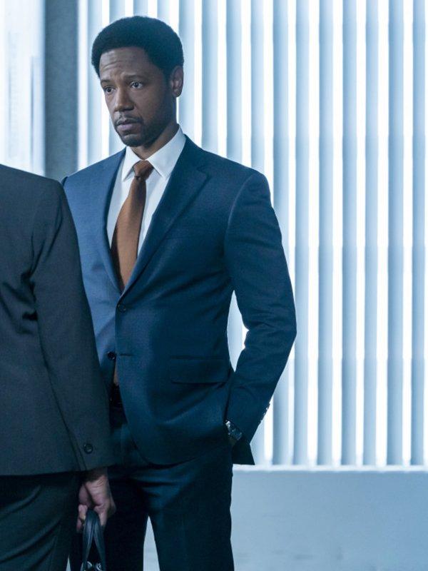 The Equalizer Detective Marcus Dante Blue Blazer