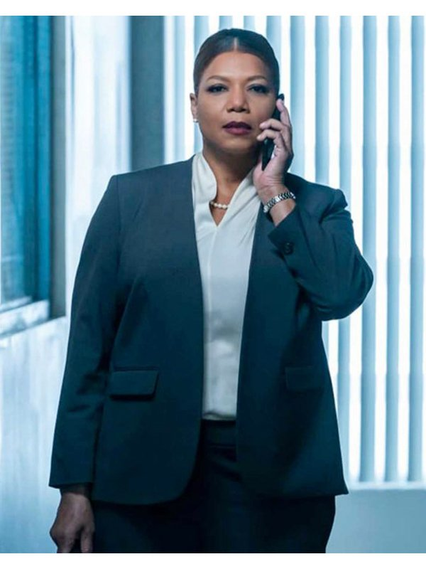 The Equalizer Queen Latifah Blue Blazer