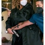The Equalizer Queen Latifah Long Black Coat
