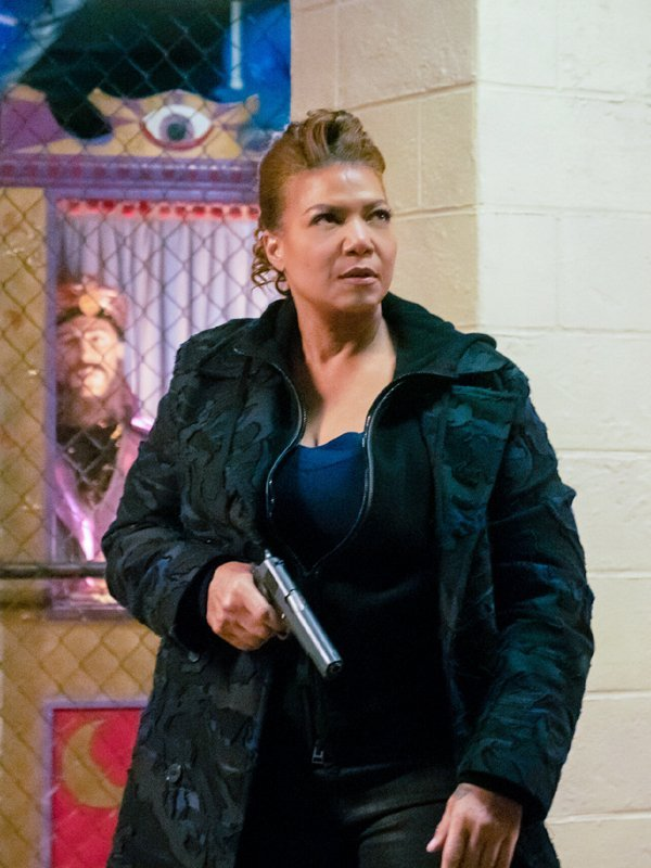The Equalizer Robyn McCall Black Trench Coat