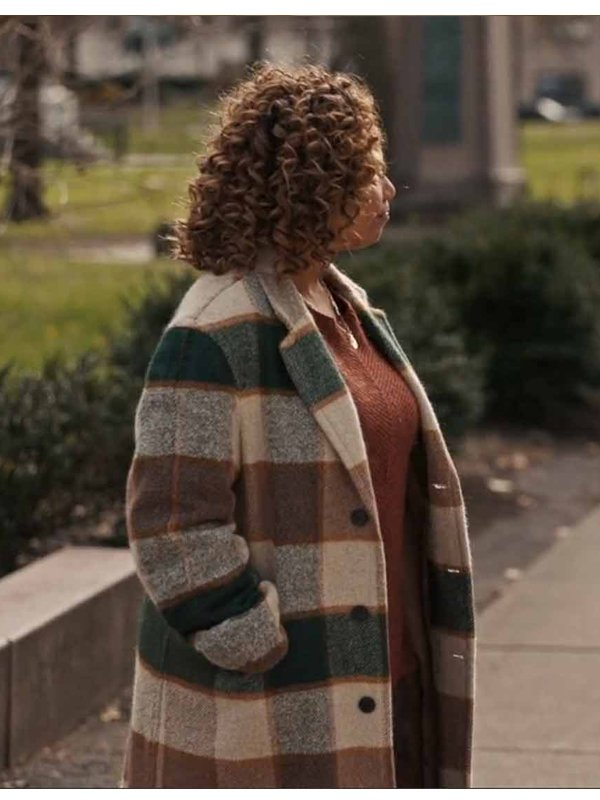The Equalizer Robyn McCall Checked Coat