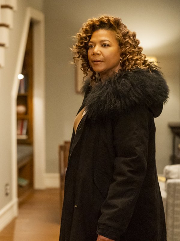 The Equalizer Robyn McCall Fur Collar Coat