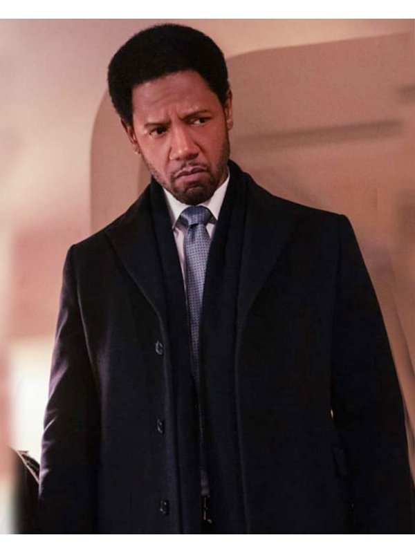 The Equalizer Tory Kittles Black Trench Coat