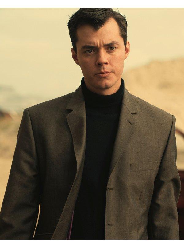 Tv Series Pennyworth Jack Bannon Grey Blazer