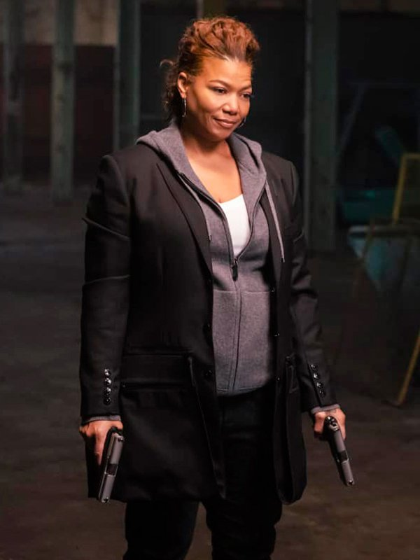 Tv Series The Equalizer Queen Latifah Mid-Length Coat