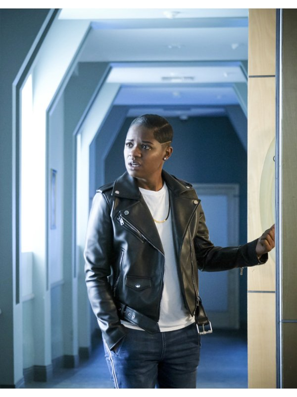 All American Tamia Cooper Leather Jacket