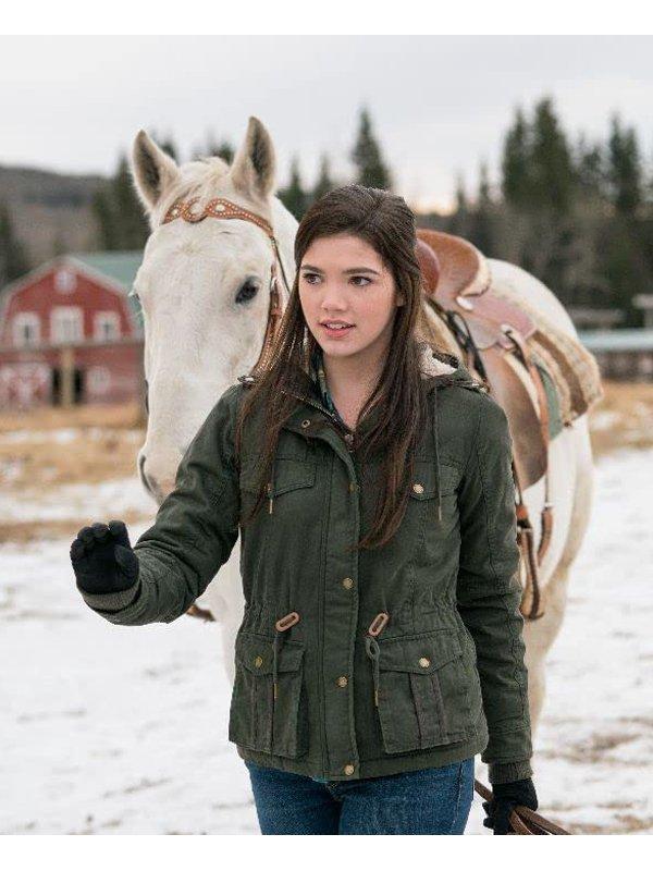 Heartland Alisha Newton Hooded Jacket