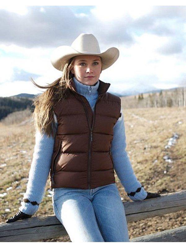 Heartland Amber Marshall Puffer Vest