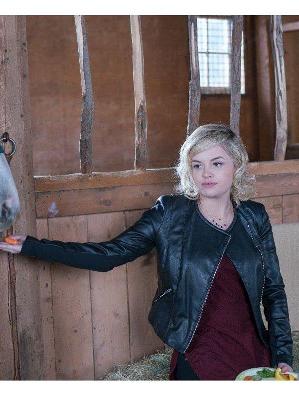 Heartland Jessica Amlee Leather Jacket